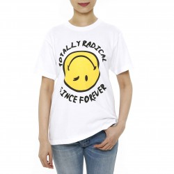 Smiley World Reverse Smiley Face T-shirt