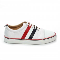 Thom Browne Canvas Tricolour Sneakers