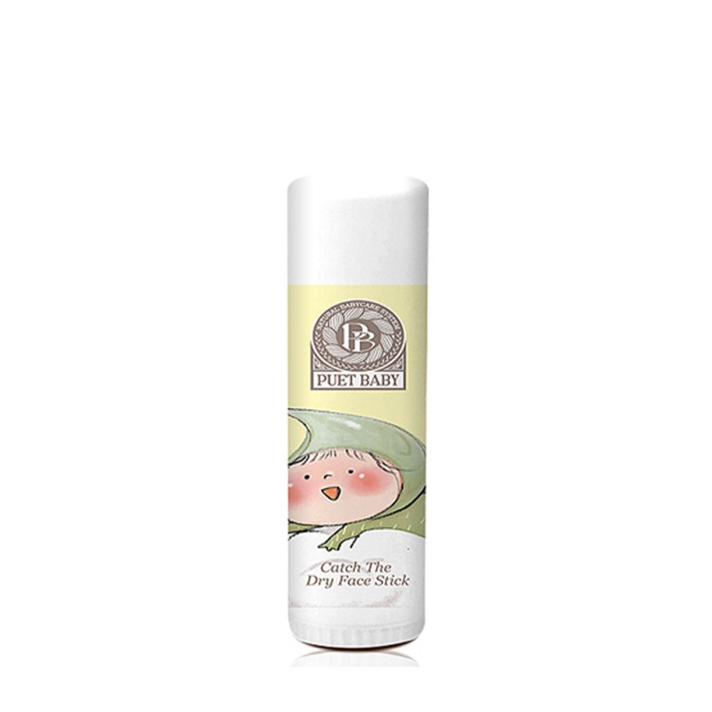 Puet Baby Organic Catch The Dry Face Stick