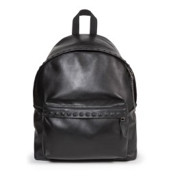 Eastpak Padded Pak'r Leather Backpack with Stud Detail