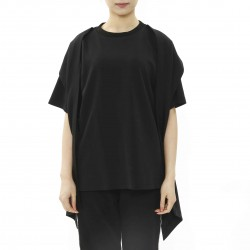 J Koo T-shirt with Scarf Detail