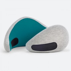 Ostrich Pillow Go Neck Support Light Blue