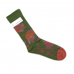 Bonne Maison Flower Pattern Socks