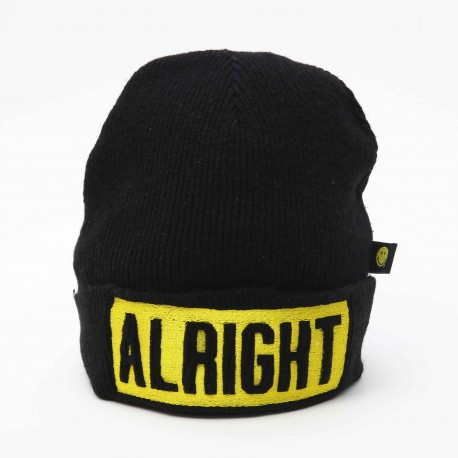Smiley World 'ALRIGHT' Beanie
