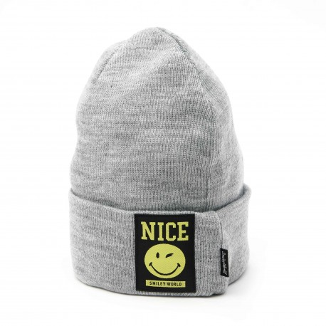 Smiley World 'NICE' Beanie