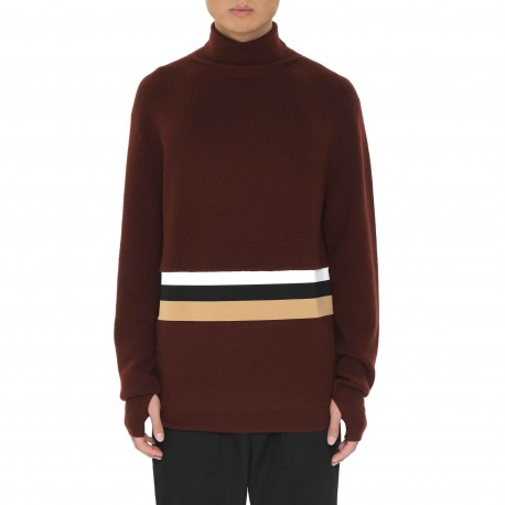 Ffixxed Studios Polo Neck Jumper with Webbing Detail