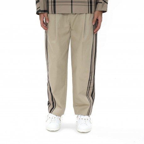 Ffixxed Studios Cropped Chinos with Chequered Panels