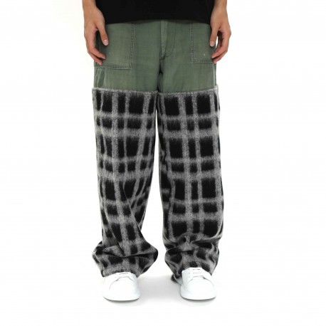 TYC Loose-fit Plaid Pants