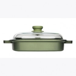 Risoli Dr.Green Induction Vaporgrill with Glass Lid 26 x 26cm
