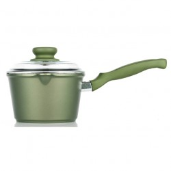 Risoli Dr.Green Induction SaucePot with Glass Lid 16cm