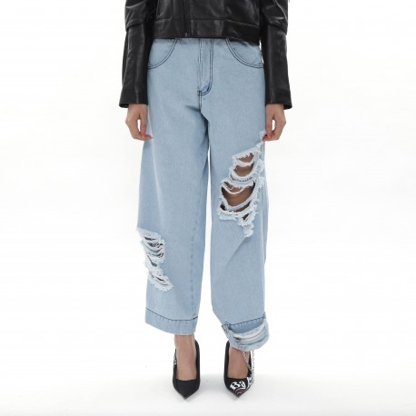 Pony Stone Liberty Mom Jeans