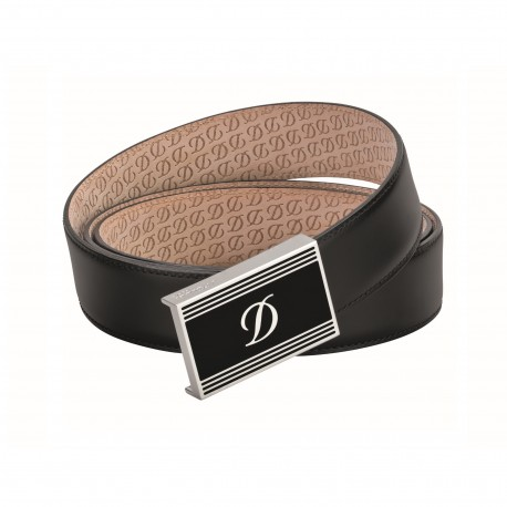 S.T. Dupont Chinese Lacquer & Palladium Finishes Heritage Belt