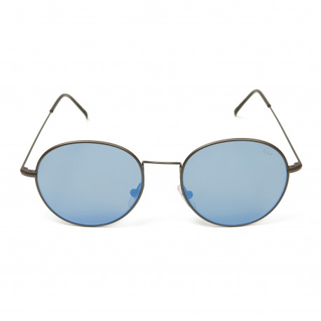 Retro Super Future Wire Blue Eyewear