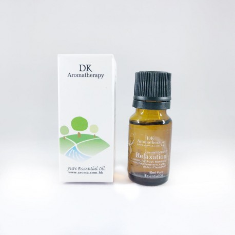 DK Aromatherapy Relaxation Permium Blend Pure Essential Oil 10ml