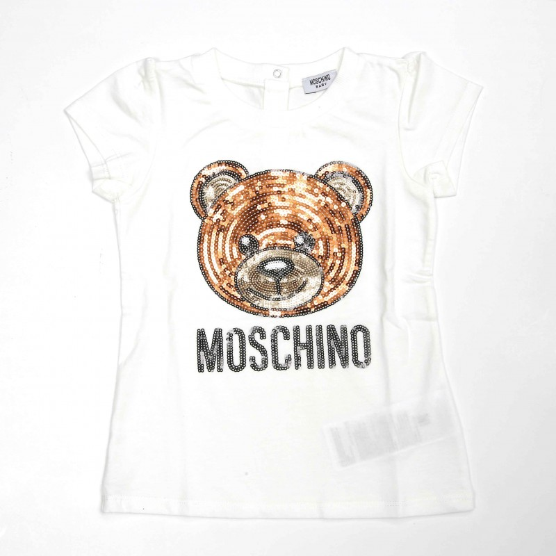 Moschino Sequin Teddy Bear T-shirt