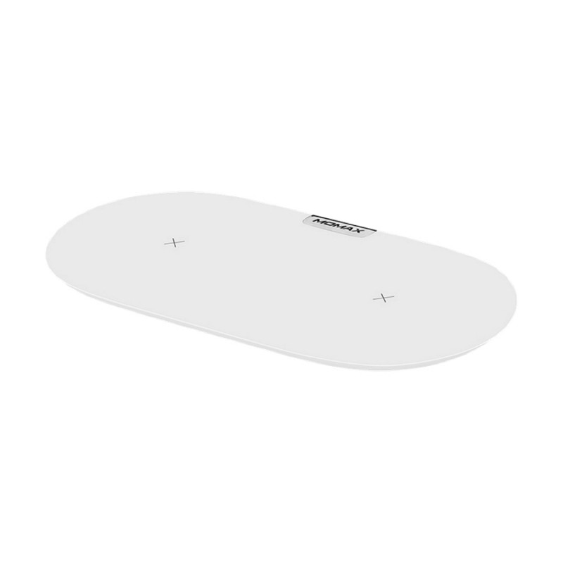 Momax Q. Pad Dual QC3.0 Wireless Charger (UD10W)  White