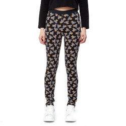 Moschino Underwear Teddy Bear Logo Leggings