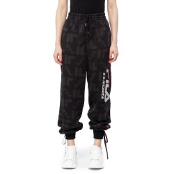 D-Antidote X Fila Logo Pattern Sweatpants