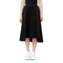Bourie Front Cutout Pleated Skirt