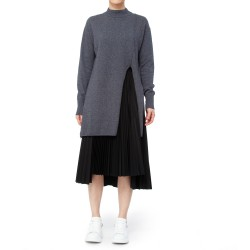 Jijil Jumper with Mullet Hemline Detail