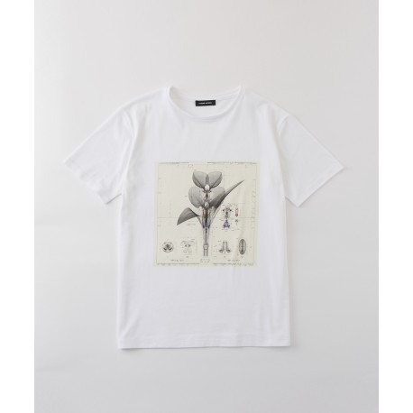 Costume National Flower-print T-shirt