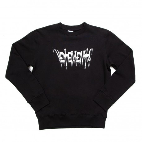 Vetements Graffiti Logo Sweatshirt