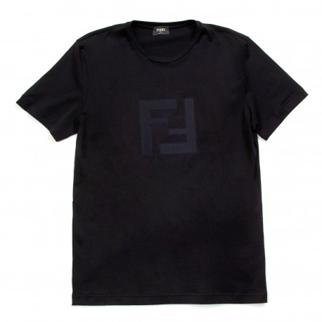 Fendi Double F Logo T-shirt