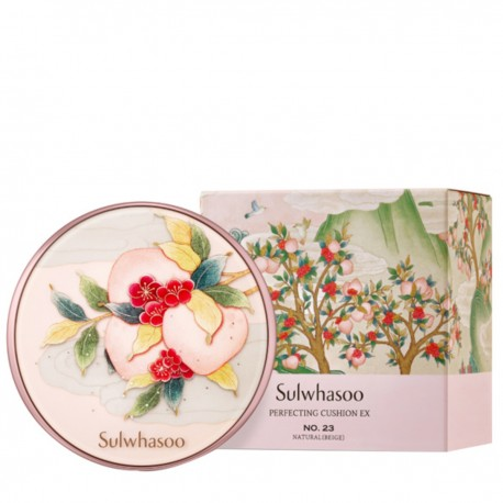 Sulwhasoo - [Limited Edition ]Perfecting Cushion Ex SPF50 15Gx 2 NO. 21-Peach Blossom Spring Utopia - 2018