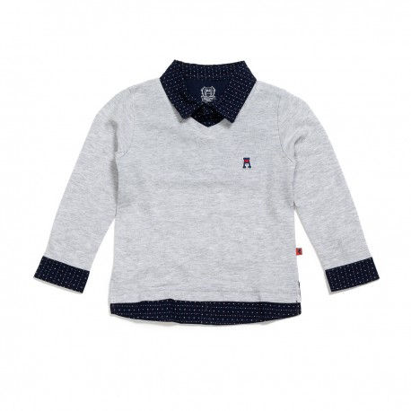 Adorami Patchwork Polo Shirt