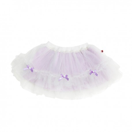 Adorami Bow and Rose-trimmed Tulle Tutu