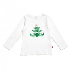 Adorami Christmas Tree-printed T-shirt