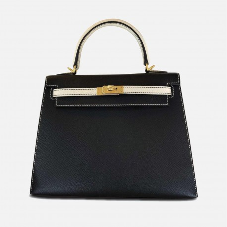 Hermes Kelly 25 Gold Buckle