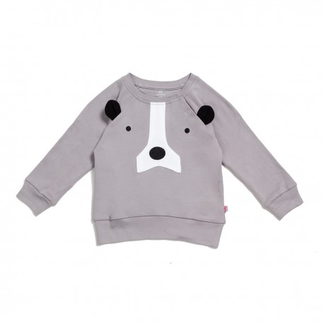 Adorami Bear Applique Sweatshirt