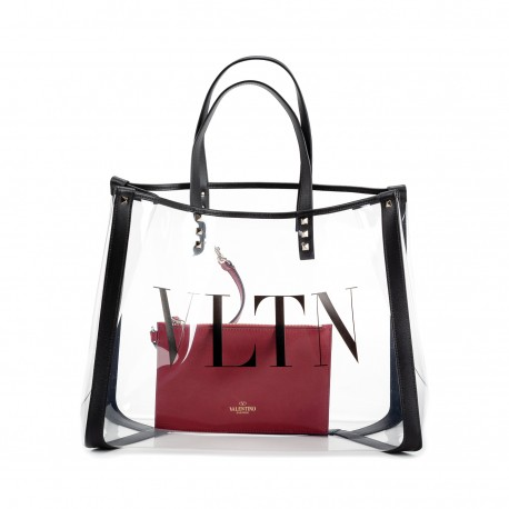 Valentino VLTN Plexy Shopping Bag