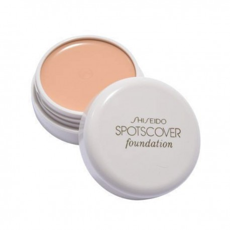 SHISEIDO SpotsCover Foundation # S100 20g white