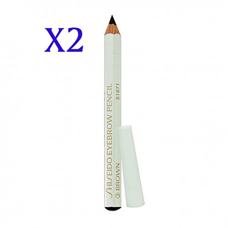 SHISEIDO Eyebrow Pencil #03 Brown  white