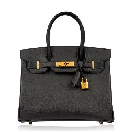 Hermes Birkin 30 Gold Buckle