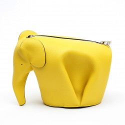 Loewe Elephant Mini Bag Yellow