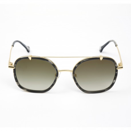 Haze Voyager Satin Gold/Gold Sunglasses
