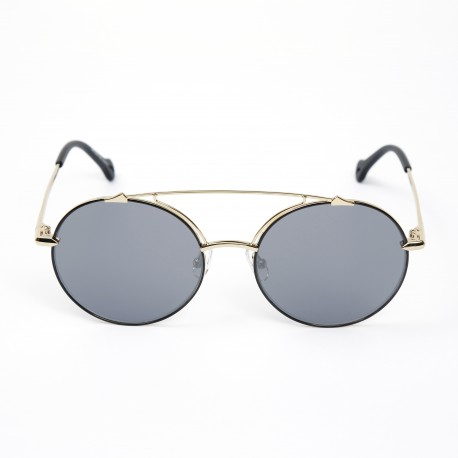 Haze Artisan Shinny Gold/Gunmetal Mirror Sunglasses