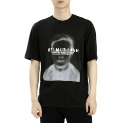 Helmut Lang Ghost Face Graphic T-Shirt