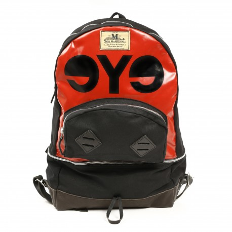 Junya Watanabe Men's multicolor eye backpacks