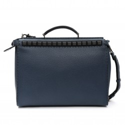 Fendi Peekaboo Regular Leather Selleria Briefcase