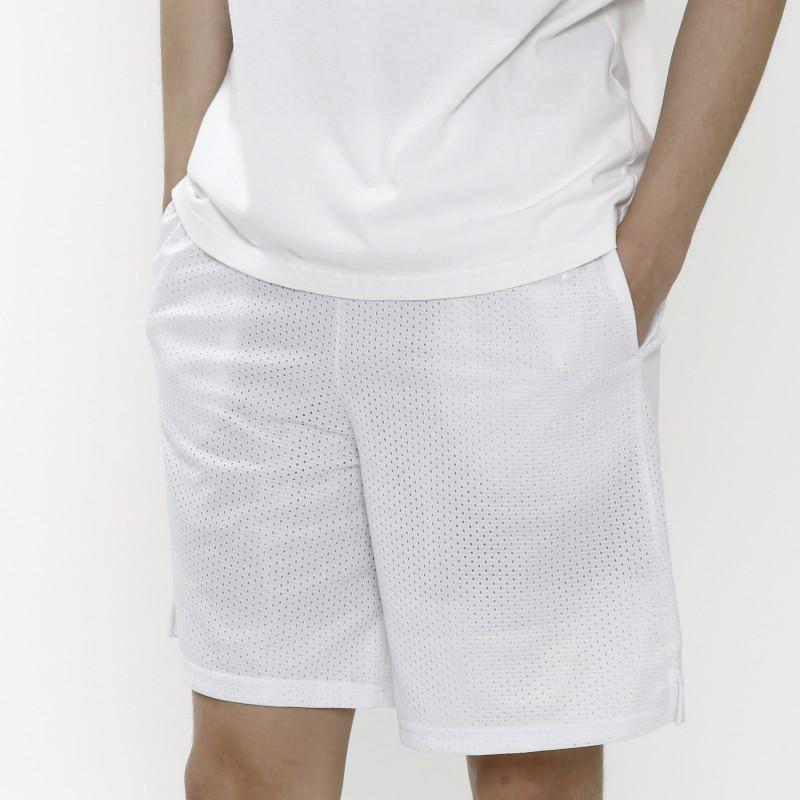 Off-White Perforated Track Shorts