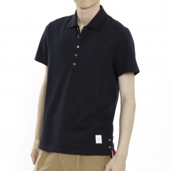 Thom Browne Short Sleeve Polo