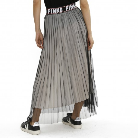 Pinko Pleated Tulle Skirt