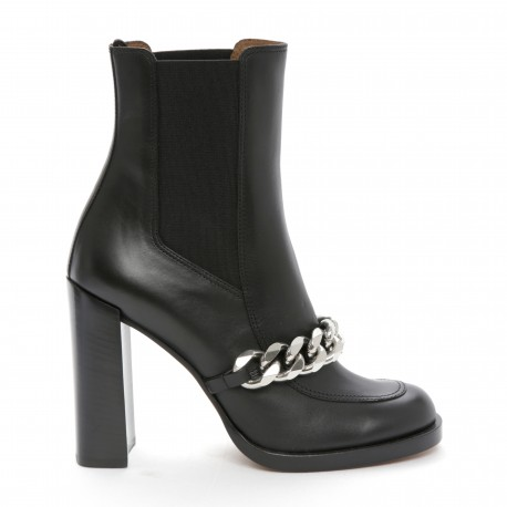 Givenchy Chain Trim Ankle Boots