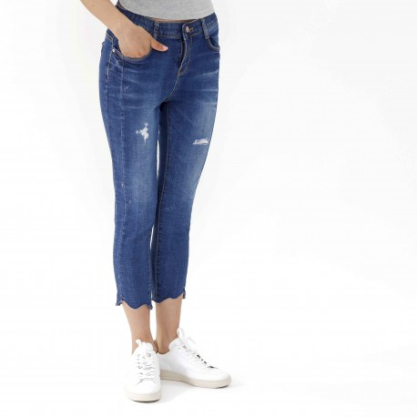 HOWLUK Distressed Mid-rise jeans