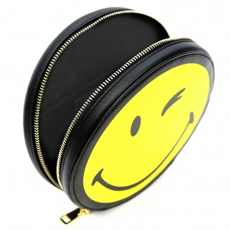 Smiley World Mini Smiley Face Clutch