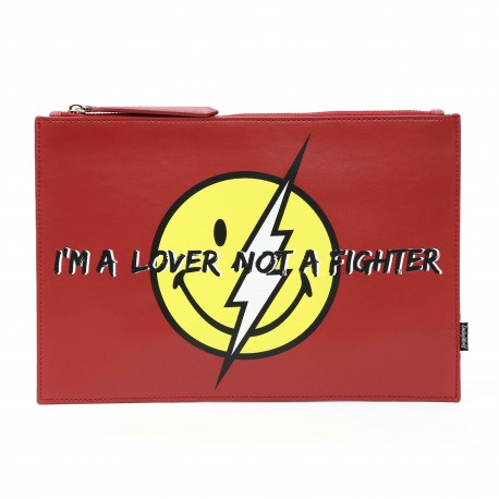Smiley World Lightening Smiley Face Clutch